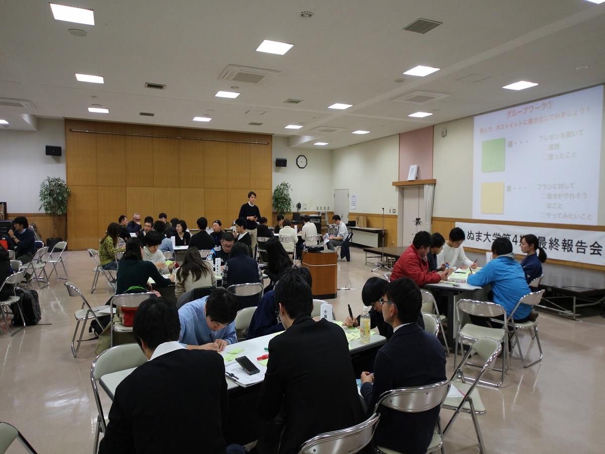 ぬま大学第4期 vol.6 最終報告会