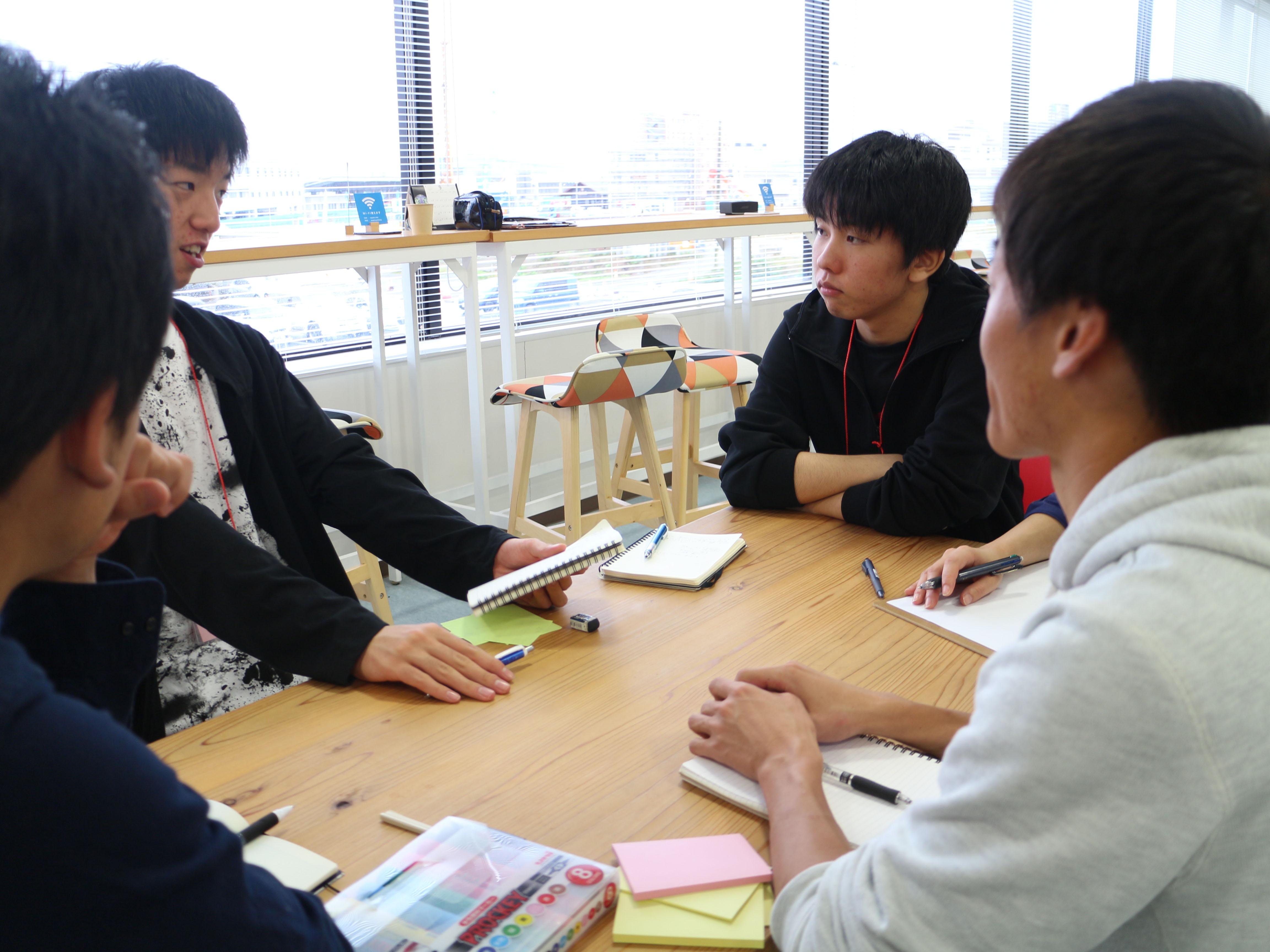 気仙沼の高校生マイプロジェクトアワード2018中間報告会