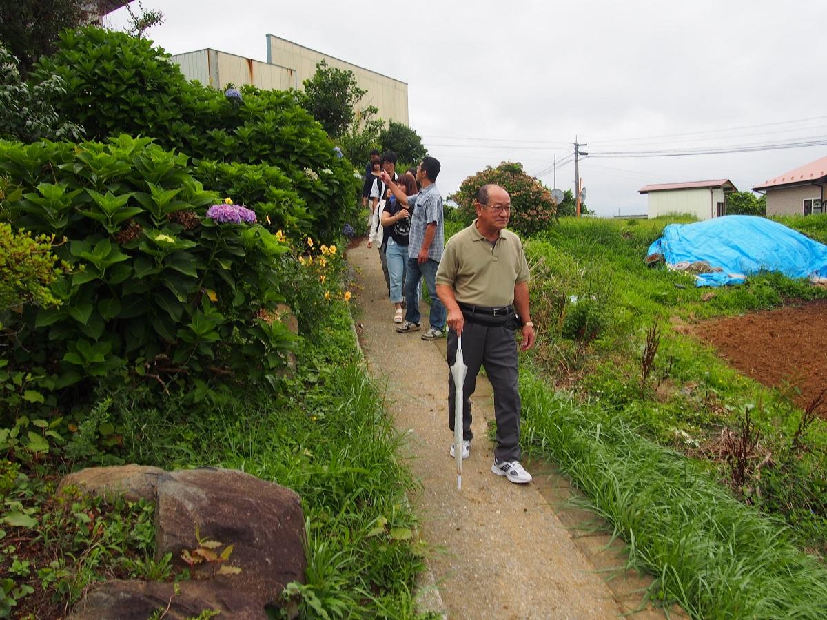 ぬま歩き2015 気仙沼市唐桑地域松圃1区